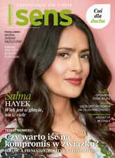SALMA HAYEK on front cover Polish Magazine SENS 2/2021