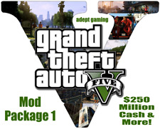 Grand Theft Auto V Xbox 360/PS3- MOD Package 1 (Does Not Include Physical Game)