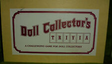 Vintage Doll Collector's Trivia a challenging game for doll collectors