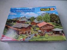 Faller Gebäude Bausätze H0 1:87 Set Sommer in den Bergen