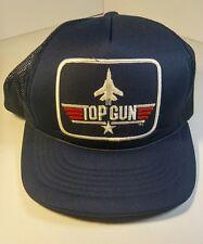 1986 VTG TOP GUN PARAMOUNT PICTURES MOVIE PROMO SNAPBACK HAT Rare [e]