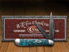 Case xx Painted Pony Damascus Turquoise Web Stone 1/200 Peanut 9220DAM-TWM Knife