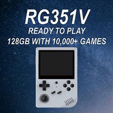 New listing Rg351V Retro Handheld Console w/ 128Gb Ready to Play - 10,000+ Games - Us Seller