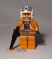 Lego Dutch Vander Minifigure (Gold Leader) from Set 9495 Star Wars NEW sw369
