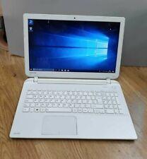 Toshiba intel i5 4th gen SATELLITE L50-B-INX Laptop 650GB HDD Windows 10 Ready