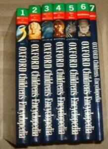 Oxford Childrens Encyclopedia Full Set (Sea to zulus , biography , index , mo.