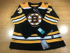 ADIDAS NHL BOSTON BRUINS PATRICE BERGERON 37 HOCKEY AUTHENTIC JERSEY XL BLACK