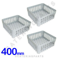 3 X 400mm Square IME OMNIWASH Glasswasher Dishwasher Open Glass Cup Rack Basket