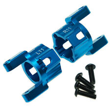 "Yeah Racing Blue alloy ""C"" hub carriers for Axial SCX10.-11 degrees uni angle"