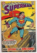 Bronze Age SUPERMAN #226 1970 - King Kong, Titano F+