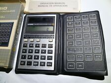 Casio fx-450 Solar Cell | Scientific Calculator with box and instruction manuals