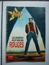 STAR CINE AVENTURES  45 /  LE SHERIF  AUX MAINS ROUGES  / 1960