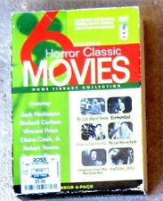 6 HORROR CLASSIC MOVIES Little Shop of Horrors, House on Haunted Hill, Tormented