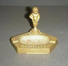 Vintage Brass Bruxelles Cherub Angel Ashtray