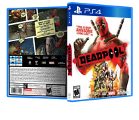 Deadpool - ReplacementPS4 Cover and Case. NO GAME!!