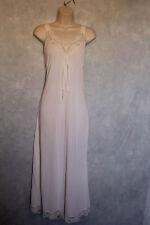 Texsheen Lingerie True Vintage Ivory Waltz Length Nightgown Size M Nylon USA
