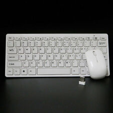 KIT KEYBOARD TASTIERA E MINI MOUSE WIFI WIRELESS SENZA FILI PER PC 2.4GHz USB