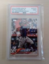 2018 Topps Update RONALD ACUNA Jr #US250 RC PSA 9 - Rookie Card (Melbourne Aces)