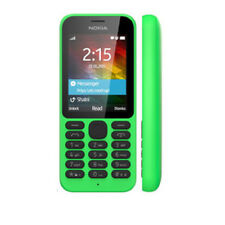 Cellulare Originale Nokia 215 Dual SIM Bluetooth MP3 Sbloccato Verde MP3 MP4