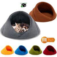 Niche panier tapis pour chien ou chat Coussin moelleux et chaud en tissu polaire