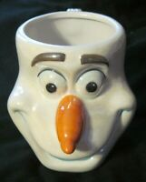 Disney -Frozen- OLAF-  Galerie - 3-D Sculpted Ceramic Snowman Coffee Tea Mug