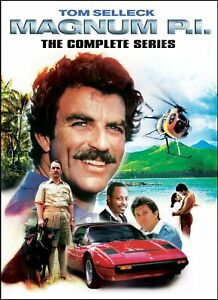 Magnum PI The Complete Season Series 1+2+3+4+5+6+7+8 DVD Box Set Clearance