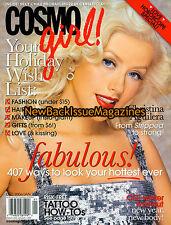 Cosmo Girl 1/07,Christina Aguilera,January 2007,NEW