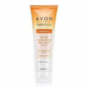 Avon True Nutra Effects Radiance Tinted Moisturizer SPF 20 Paraben Free 50ml