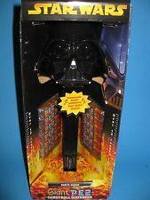 PEZ GIANT DARTH VADER STAR WARS CANDY DISPENSER 2005 SOUND MUSIC NIB