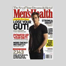 Men's Health Magazine Chris Pine 2009 Star Trek Paul Pierce Boston Celtics