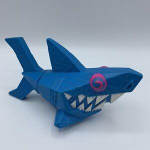 Vintage Wendy's Blue Pink Shark 90's Crazy Design Vapor Wave Retro Squirt Toy
