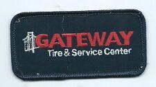 Gateway Tire & Service Center dealer employee patch 2 X 4 Tulsa OK