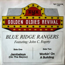 "7"" BLUE RIDGE RANGERS Jambalaya + Workin´ On A Building"