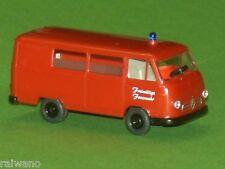 1:87 Wiking 086117 Feuerwehr KTW Borgward B 611 Blitzversand per DHL-Paket