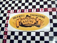 Racing Car Sticker - MGB Mini Cooper Hillman Imp Escort Anglia Jaguar GT E-Type