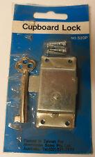 Cupboard Lock with Key Old Fashioned Key Mortice Lock