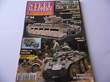 STEEL MASTERS ISSUE 44  - MILITARY HISTORY WARGAMING MAGAZINE