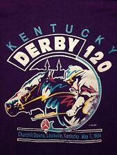 Vintage Kentucky Horse Racing Derby Jockey Track Gambling Soft Xl T Shirt Pony