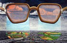 Rudolf Voigt (1925-2007)   Die Regierungsbrille, 165 x250 cm, 1994