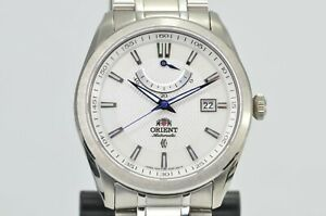 Orient Vintage Automatic Watch w/ Power Reserve, Sapphire Display Back FFD0F001W