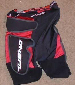 O'Neal padded bicycle motocross BMX shorts mens size Large
