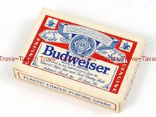 1970s Budweiser Beer Playing Cards Deck in box Tavern Trove