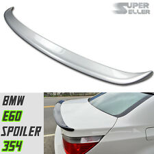 LA Stock PAINTED #354 BMW 5-Series E60 Sedan A Type Trunk Spoiler 525xi M5