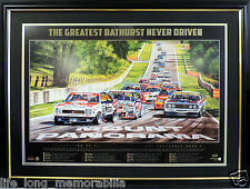 BATHURST 50TH YEAR GREATEST RACE NEVER DRIVEN LTD ED HOLDEN FORD BROCK, LOWNDES
