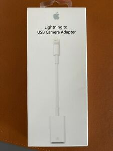 Apple Lightning to USB Camera Adapter MD821AM/A A1440 open box