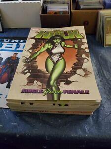 She Hulk TPB Volumes 1-7 Marvel 2004