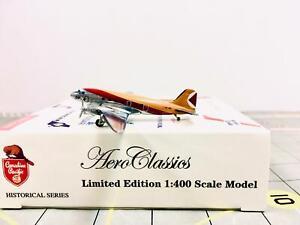 AeroClassics 1:400 CP Air Douglas DC-3 CF-CRX