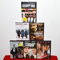 DVD Movie Bundle Casino Royal 007 Reservoir Dogs Joyeux Noel War Gardener LA