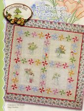 10% Off Crab-apple Hill Quilt/Embroidery Pattern - Farmhouse Window Sills