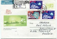 URSS CCCP Exploration Mission Base Ship Polar Antarctic Cover Moscow Recommandé